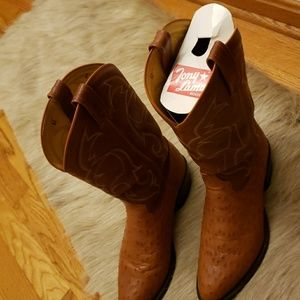 Tony Lama  Full Quill Ostrich Vintage boots